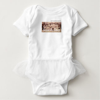 Midcentury Modern Architecture - Future Architect Baby Bodysuit