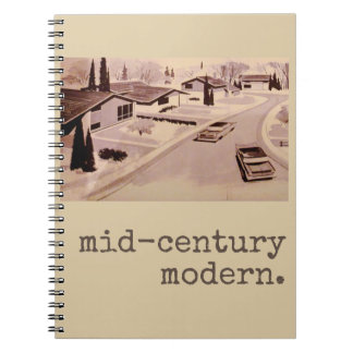 Midcentury Modern Architecture Notebook