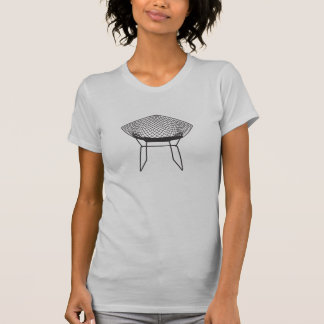 Midcentury Modern Bertoia 1952 Diamond Chair T-Shirt
