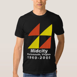 Midcity 1960-2005 t shirt
