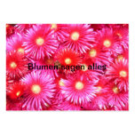 Midday flowers business card templates