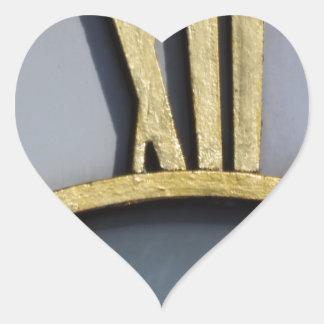 midday heart sticker