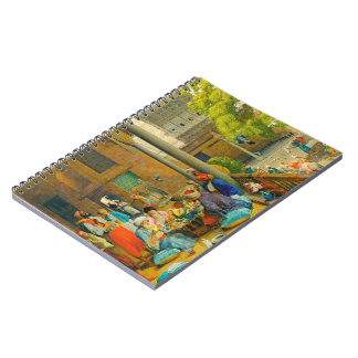 Midday Meal 1875 Notebook