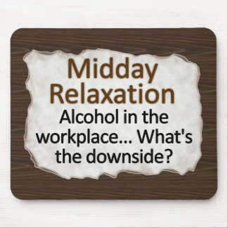 Midday Relaxation Mousepad
