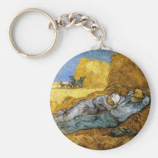 Midday Rest, Vincent Van Gogh Keychain