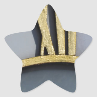 midday star sticker