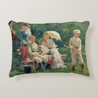 Midday Sun, 1881 Accent Pillow