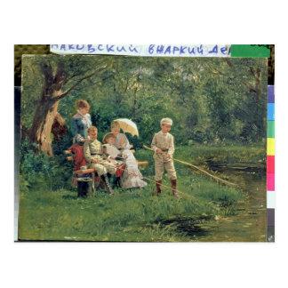 Midday Sun, 1881 Postcard
