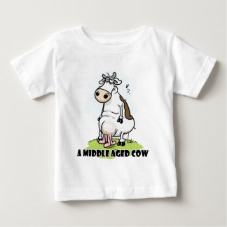 Middle age cow baby T-Shirt
