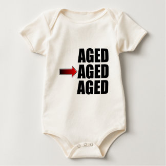 Middle Aged Baby Bodysuit