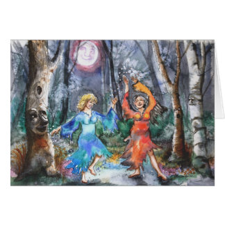 Middle Aged Fairies Notecard