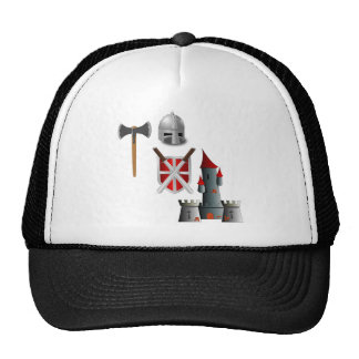 Middle Ages Mash-up Trucker Hat