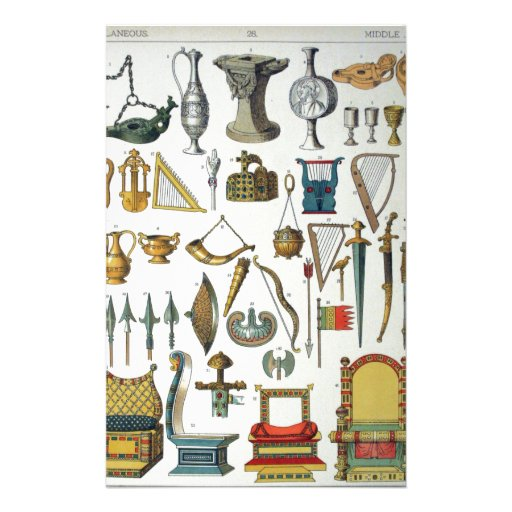 Middle Ages Stationery
