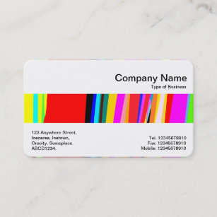 House calls business cards zazzle middle band abstract colors business card reheart Choice Image