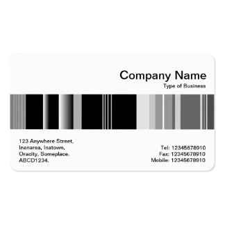 Middle Band - Codex 01 Double-Sided Standard Business Cards (Pack Of 100)