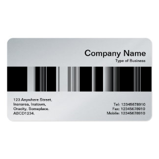 Middle Band - Codex 02 (Platinum) Double-Sided Standard Business Cards (Pack Of 100)