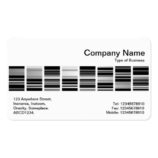 Middle Band - Codex 03 Double-Sided Standard Business Cards (Pack Of 100)