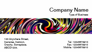 House calls business cards zazzle middle band color vortex business card reheart Choice Image