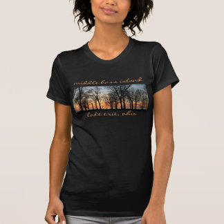 Middle Bass Panorama for women Tshirt
