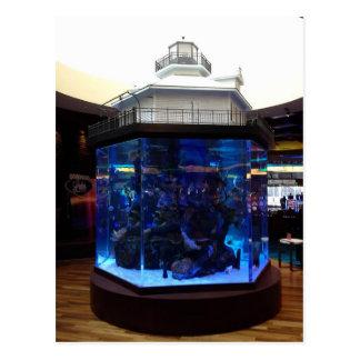 Middle Bay Lighthouse Fish Tank Postcard