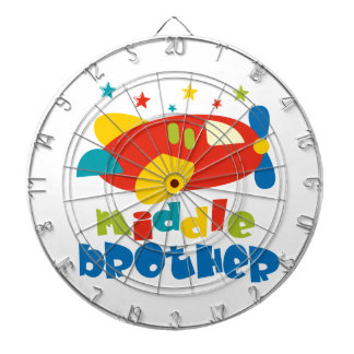 Middle Brother Plan Stars Dartboards