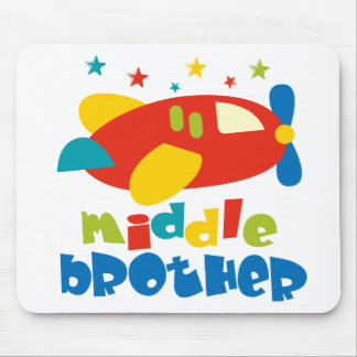 Middle Brother Plan Stars Mouse Pad