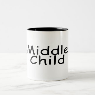 Middle Child Two-Tone Coffee Mug