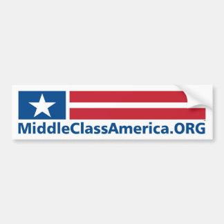 MIDDLE CLASS AMERICA ORGANIZATION BUMPER STICKER