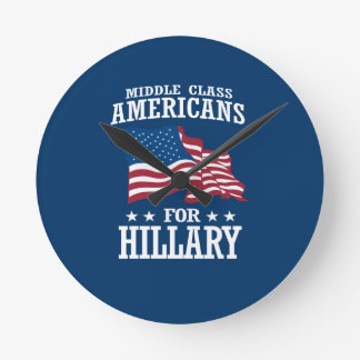 MIDDLE CLASS AMERICANS FOR HILLARY ROUND CLOCK
