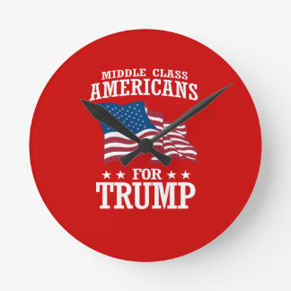 MIDDLE CLASS AMERICANS FOR TRUMP ROUND CLOCK