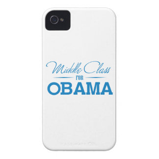 MIDDLE CLASS FOR OBAMA -.png Case-Mate iPhone 4 Case