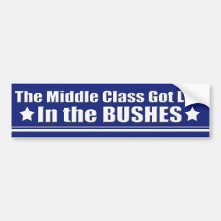 Middle Class is the 99% Bumper Sticker