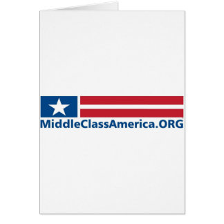 MIDDLE CLASS LOGO - ZAZZLE - TM version.jpg Greeting Card