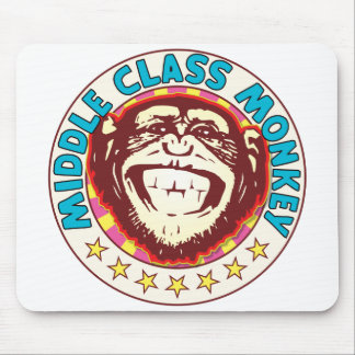 Middle Class Monkey Mouse Pad