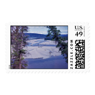 Middle Coleen River Stamps