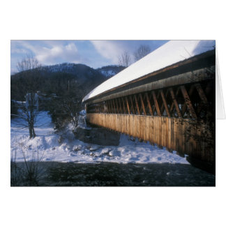 Middle Covered Bridge, Woodstock Vermont Greeting Cards