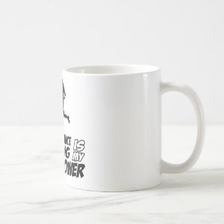 Middle distance running coffee mug