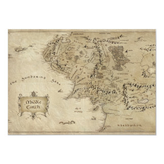 MIDDLE EARTH™ 5X7 PAPER INVITATION CARD