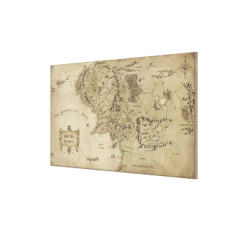 Middle Earth Stretched Canvas Prints