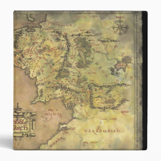 Middle Earth Map Binder
