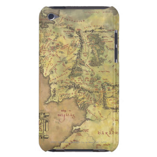 Middle Earth Map Barely There iPod Covers