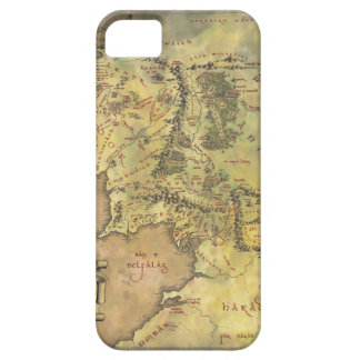 Middle Earth Map iPhone 5 Case