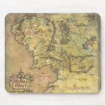 "Middle Earth Map Mouse Pad<br><div class=""desc"">Lord of the Rings: Fellowship of the Ring</div>"