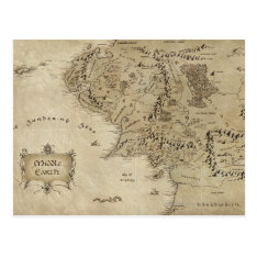 Middle Earth™ Postcard at Zazzle