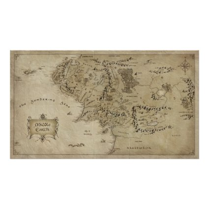 Middle Earth Print