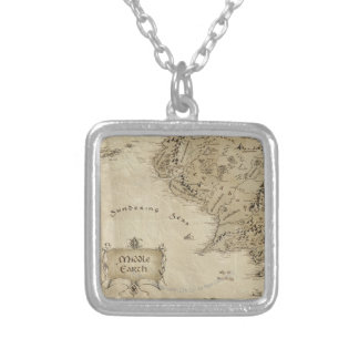 MIDDLE EARTH™ SILVER PLATED NECKLACE