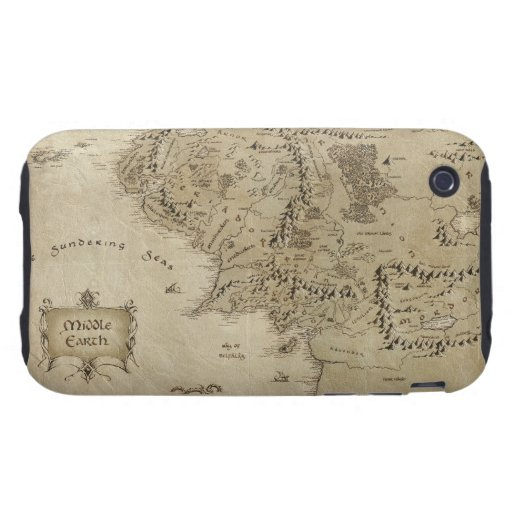 Middle Earth Tough iPhone 3 Cover