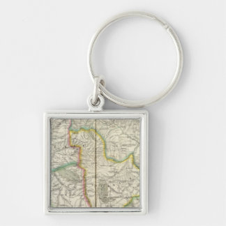 Middle East 52 Keychain