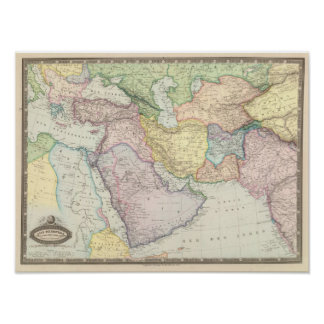 Middle East 5 Print