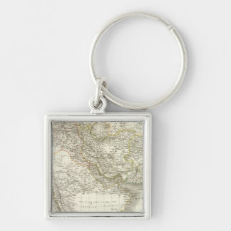 Middle East Atlas Map 2 Key Chains